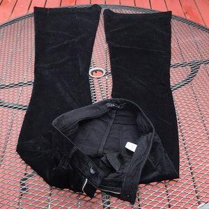 J Brand black Bella Size 29 flare bottom jeans